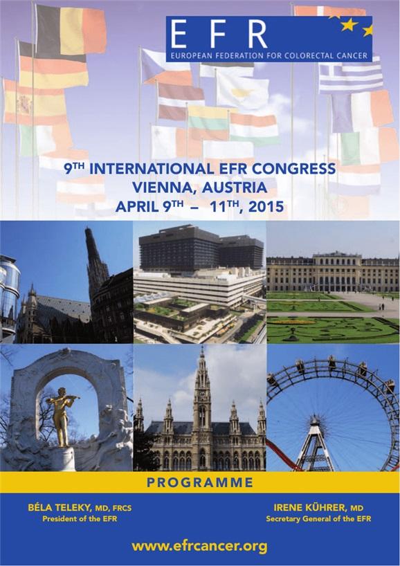 11 International Congress Of Efr European Federation For Colorectal